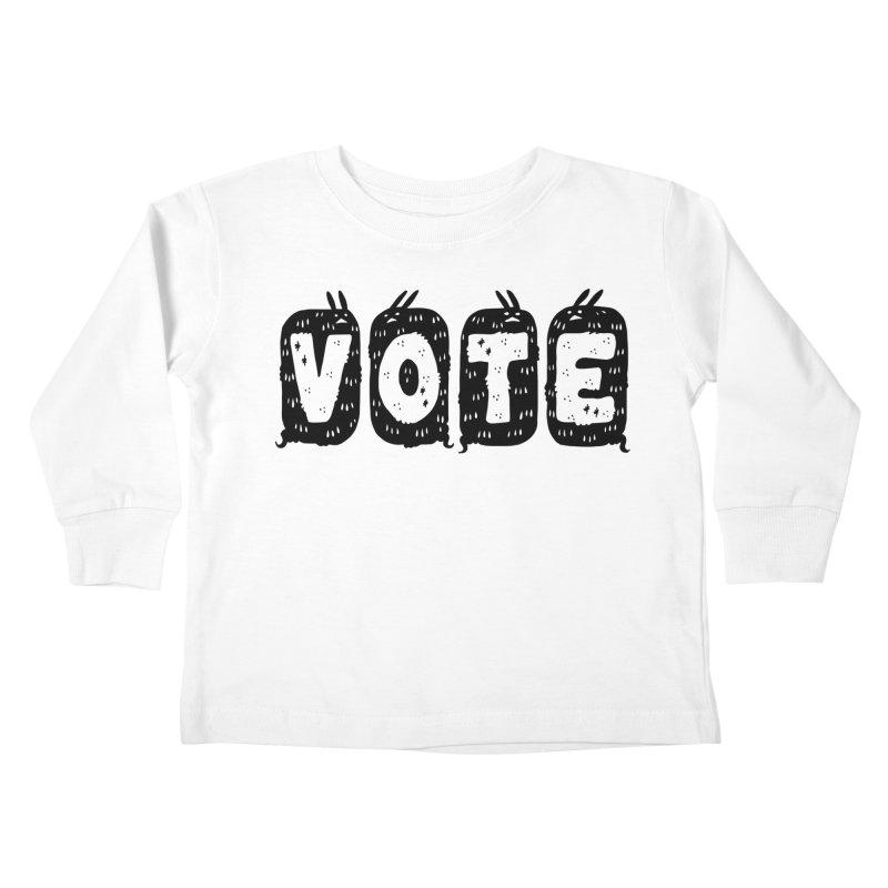 VOTE Kids Toddler Longsleeve T-Shirt by Haypeep's Artist Shop