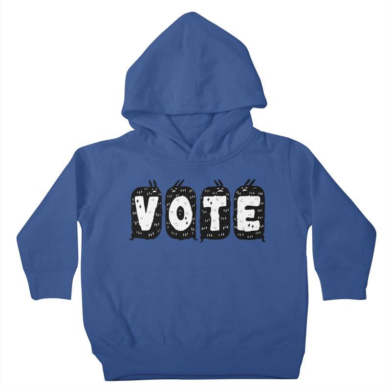 VOTE Kids Toddler Pullover Hoody by Haypeep's Artist Shop