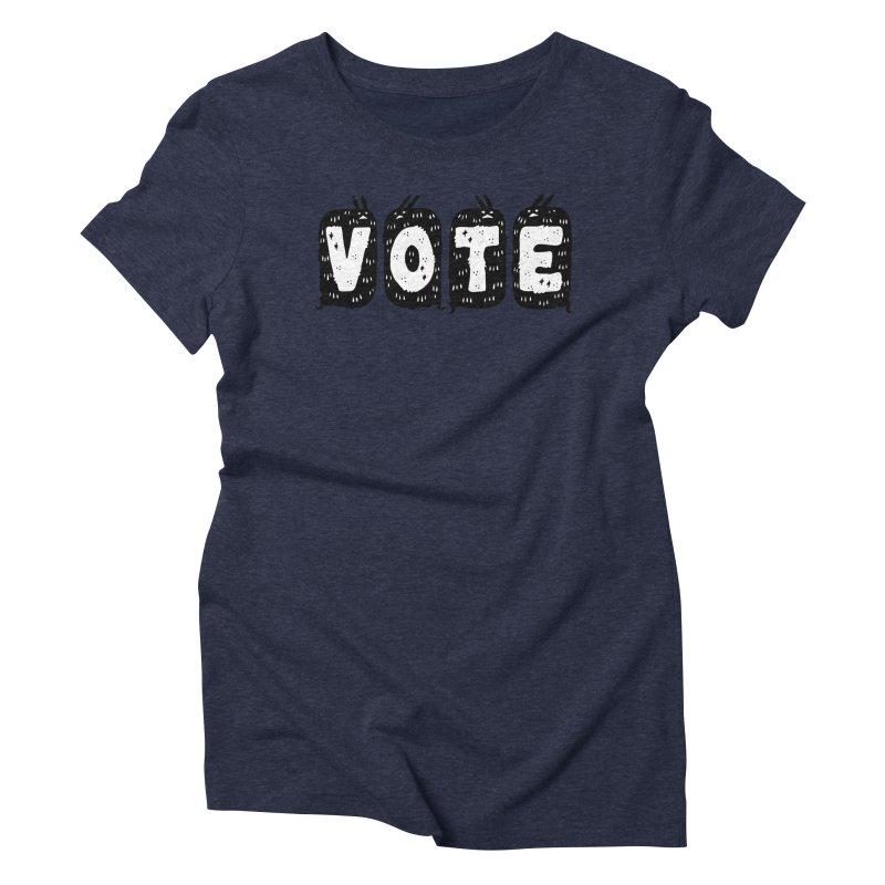 VOTE Women's Triblend T-Shirt by Haypeep's Artist Shop