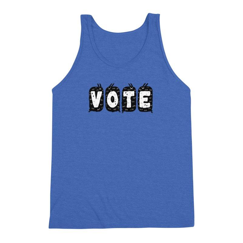 VOTE Men's Triblend Tank by Haypeep's Artist Shop