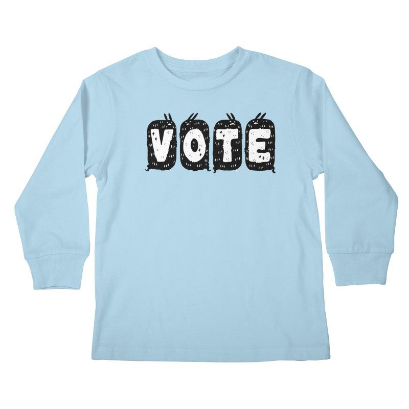 VOTE Kids Longsleeve T-Shirt by Haypeep's Artist Shop