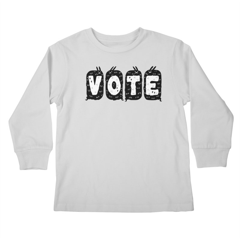 VOTE Kids Longsleeve T-Shirt by Haypeep's Artist Shop
