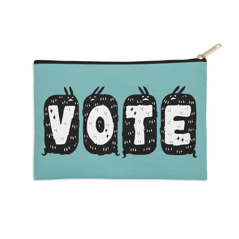 VOTE Accessories Zip Pouch by Haypeep's Artist Shop