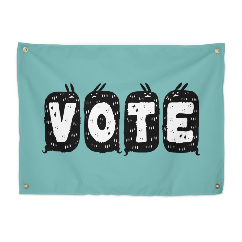 VOTE Home Tapestry by Haypeep's Artist Shop