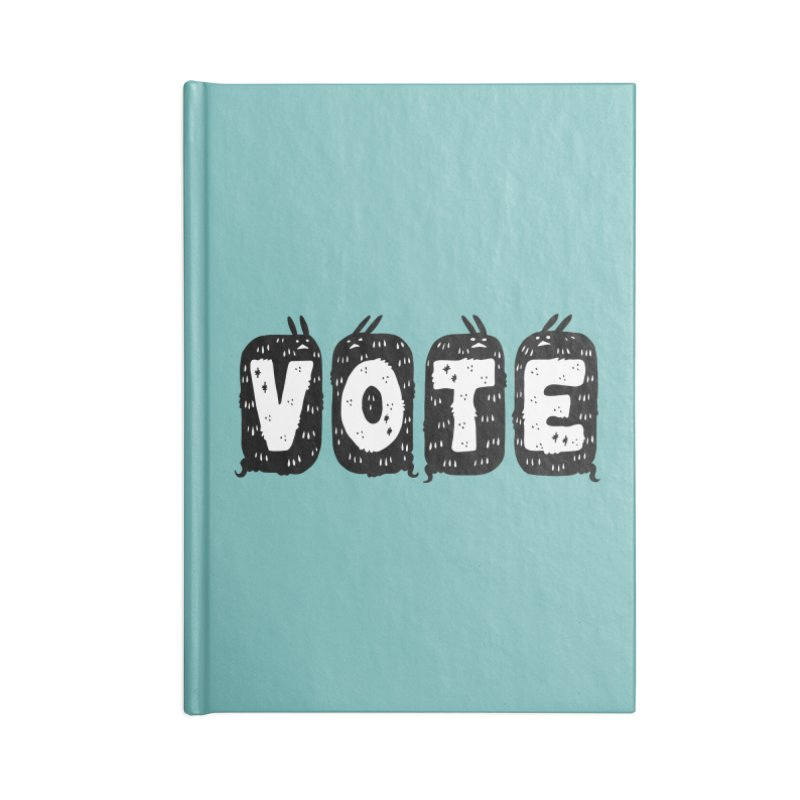 VOTE Accessories Blank Journal Notebook by Haypeep's Artist Shop