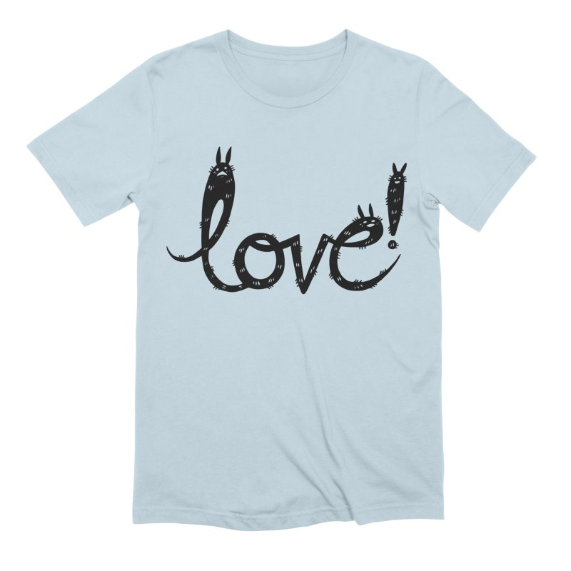 Love! Men's Extra Soft T-Shirt by Haypeep's Artist Shop