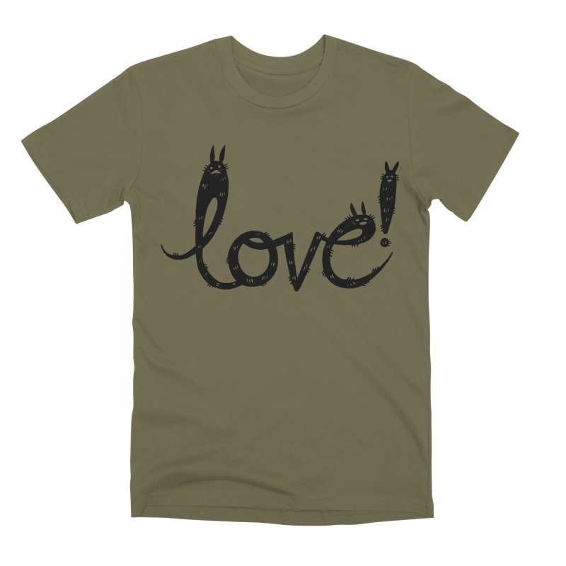 Love! Men's T-Shirt by Haypeep's Artist Shop