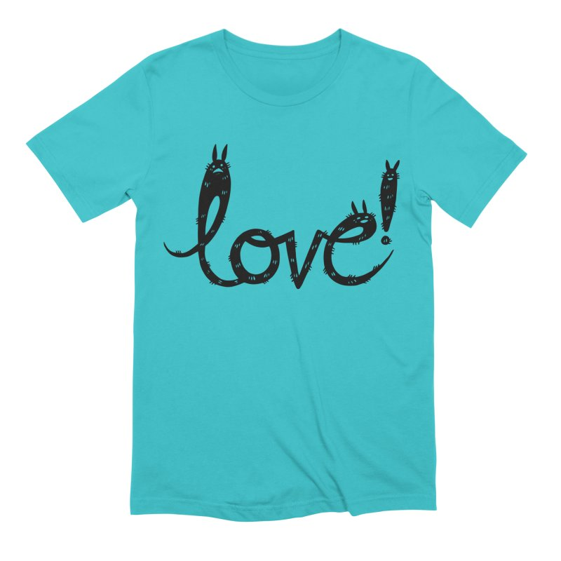 Love! Men's Extra Soft T-Shirt by Haypeep's Artist Shop
