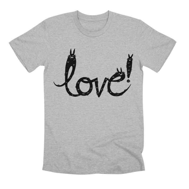 Love! Men's Premium T-Shirt by Haypeep's Artist Shop