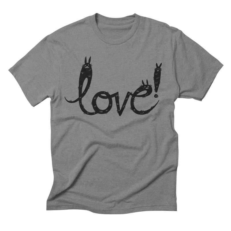 Love! Men's Triblend T-Shirt by Haypeep's Artist Shop