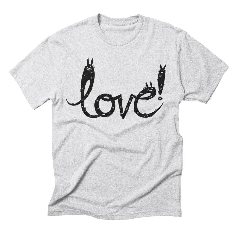 Love! Men's Triblend T-Shirt by Haypeep's Artist Shop