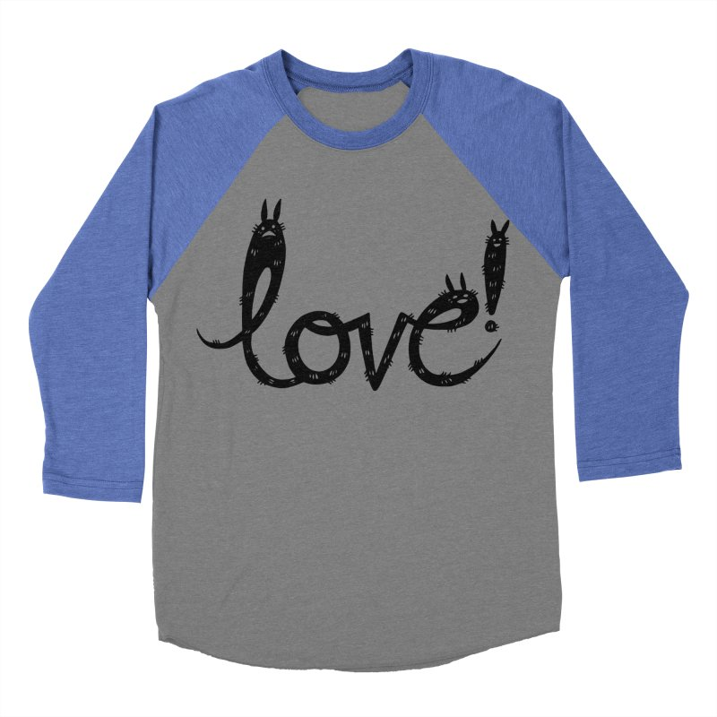Love! Women's Baseball Triblend Longsleeve T-Shirt by Haypeep's Artist Shop