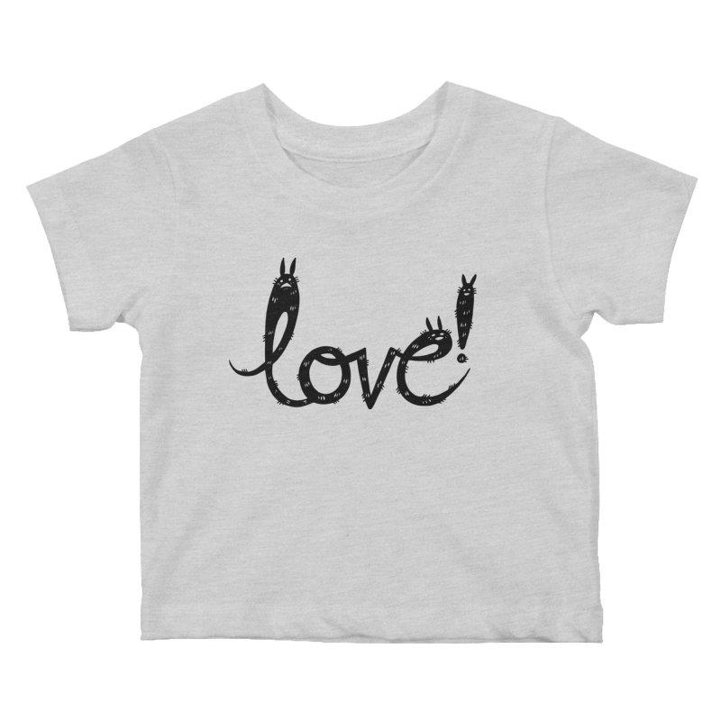 Love! Kids Baby T-Shirt by Haypeep's Artist Shop