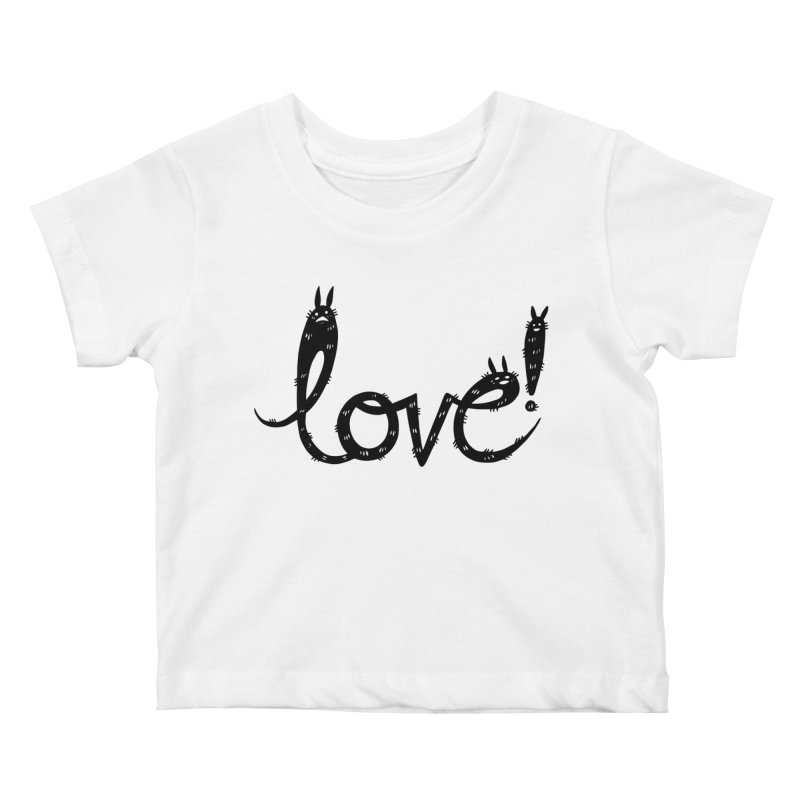 Love! Kids Baby T-Shirt by Haypeep's Artist Shop