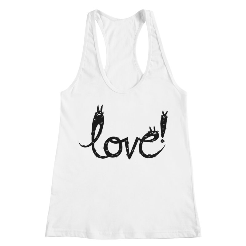 Love! Women's Racerback Tank by Haypeep's Artist Shop