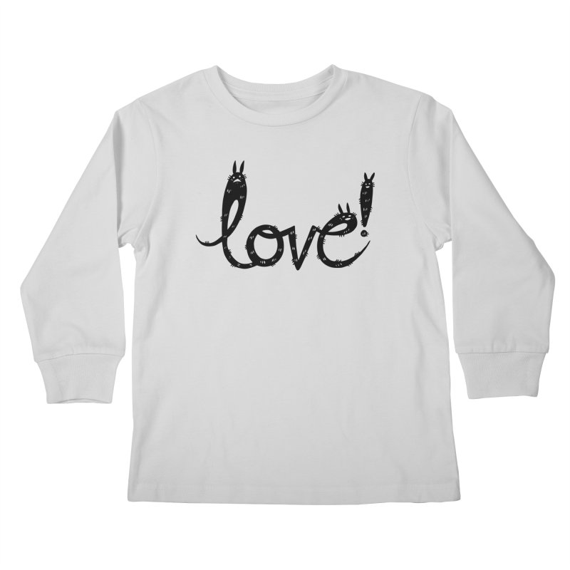 Love! Kids Longsleeve T-Shirt by Haypeep's Artist Shop