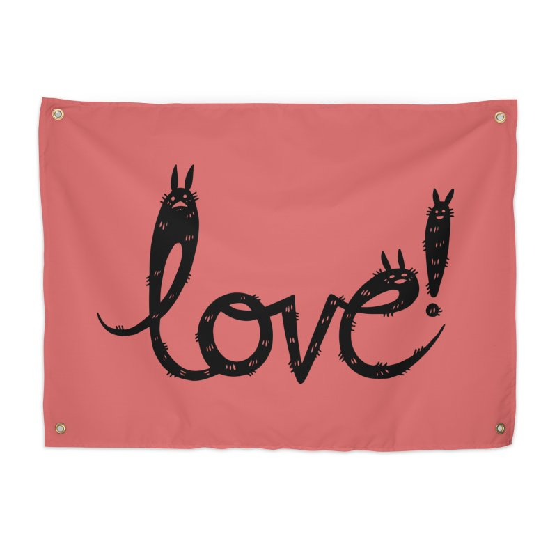 Love! Home Tapestry by Haypeep's Artist Shop