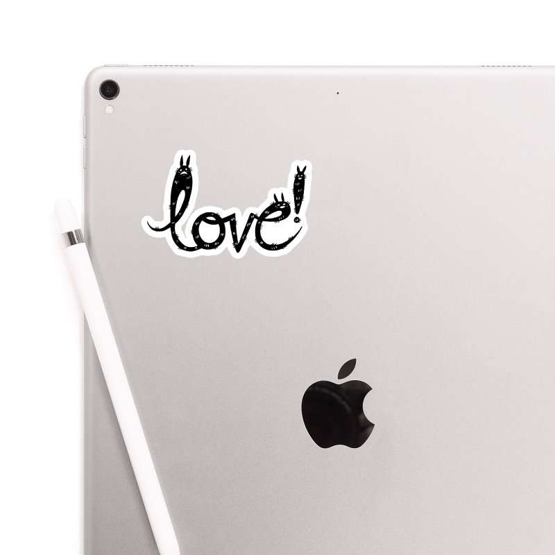 Love! Accessories Sticker by Haypeep's Artist Shop