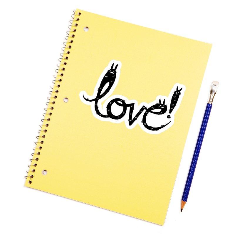 Love! Accessories Sticker by Haypeep's Artist Shop