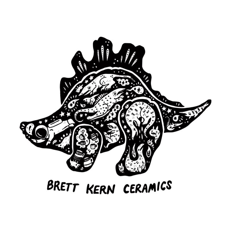 Brett Kern Stego Logo Kids T-Shirt by Haypeep's Artist Shop