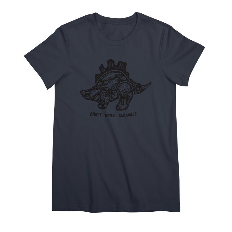 Brett Kern Stego Logo Women's Premium T-Shirt by Haypeep's Artist Shop