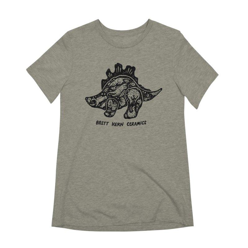 Brett Kern Stego Logo Women's Extra Soft T-Shirt by Haypeep's Artist Shop