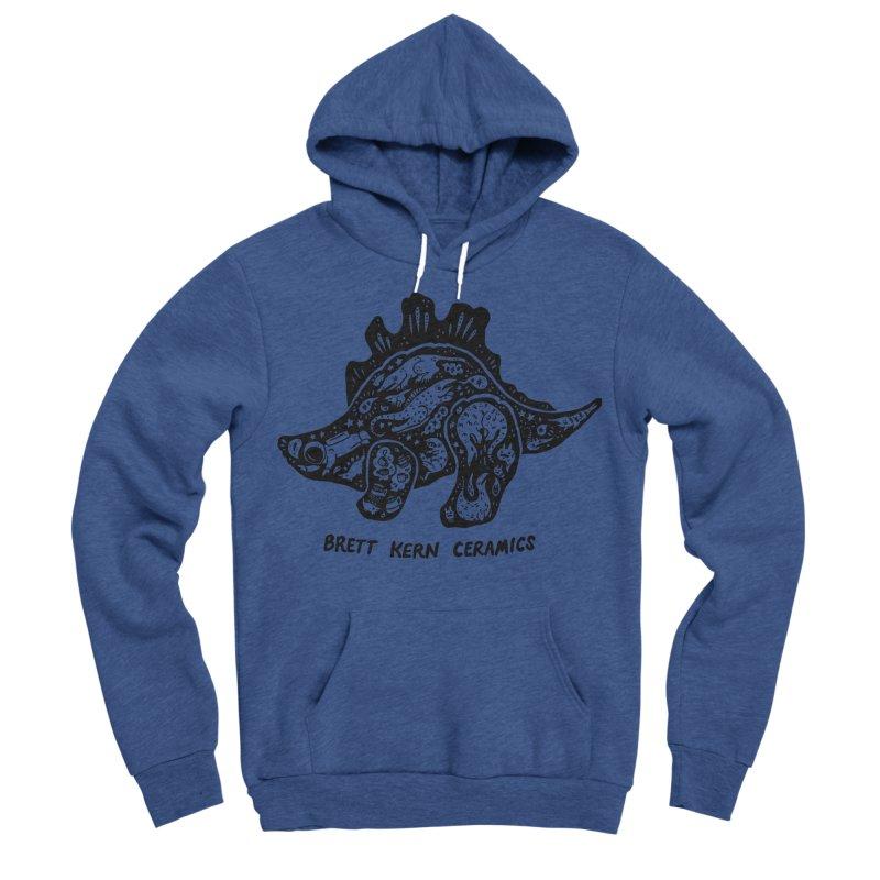 Brett Kern Stego Logo Men's Sponge Fleece Pullover Hoody by Haypeep's Artist Shop