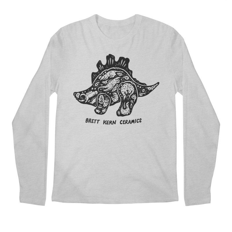 Brett Kern Stego Logo Men's Regular Longsleeve T-Shirt by Haypeep's Artist Shop