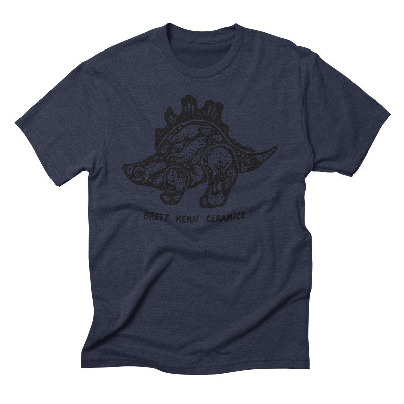 Brett Kern Stego Logo Men's Triblend T-Shirt by Haypeep's Artist Shop