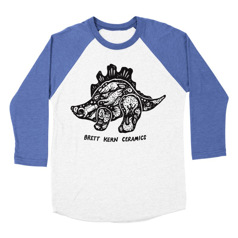 Brett Kern Stego Logo Women's Baseball Triblend Longsleeve T-Shirt by Haypeep's Artist Shop