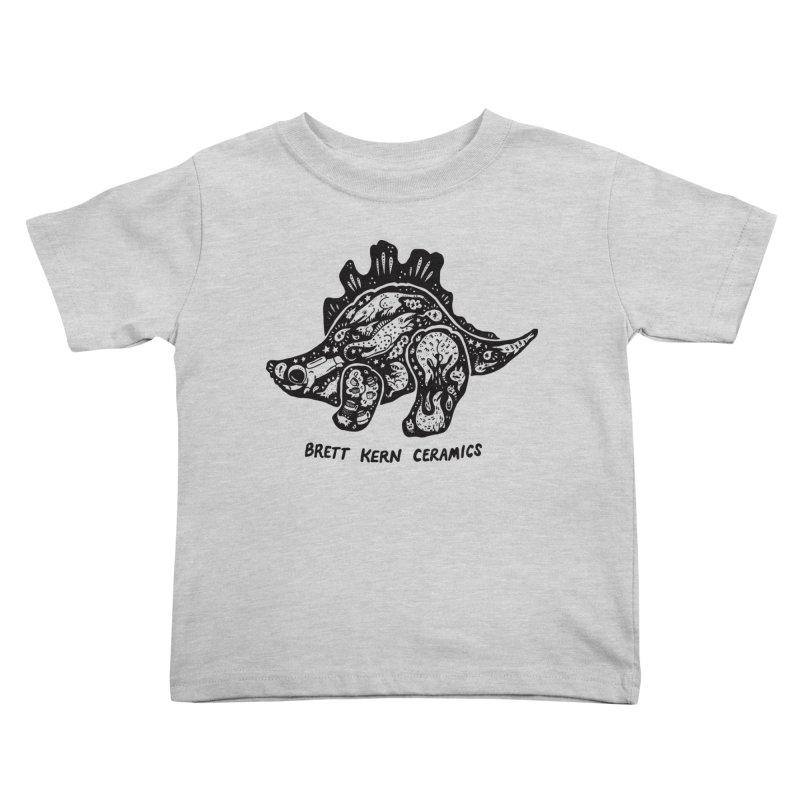 Brett Kern Stego Logo Kids Toddler T-Shirt by Haypeep's Artist Shop