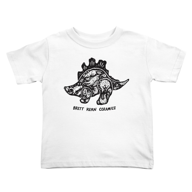 Brett Kern Stego Logo Kids Toddler T-Shirt by Haypeep's Artist Shop