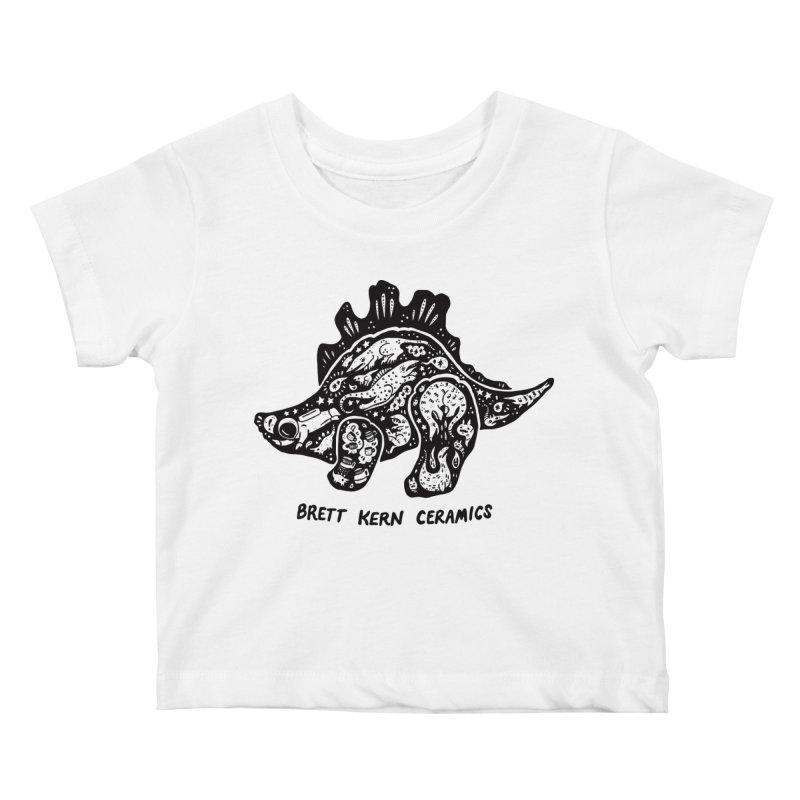 Brett Kern Stego Logo Kids Baby T-Shirt by Haypeep's Artist Shop