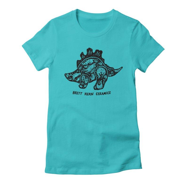 Brett Kern Stego Logo Women's Fitted T-Shirt by Haypeep's Artist Shop