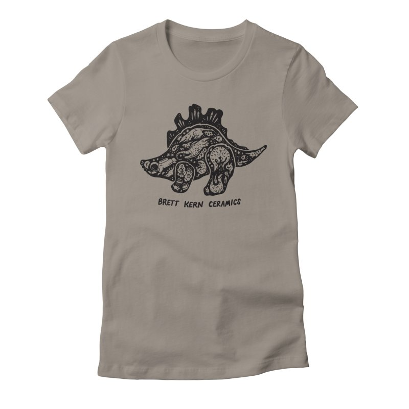 Brett Kern Stego Logo Women's Fitted T-Shirt by Haypeep's Artist Shop