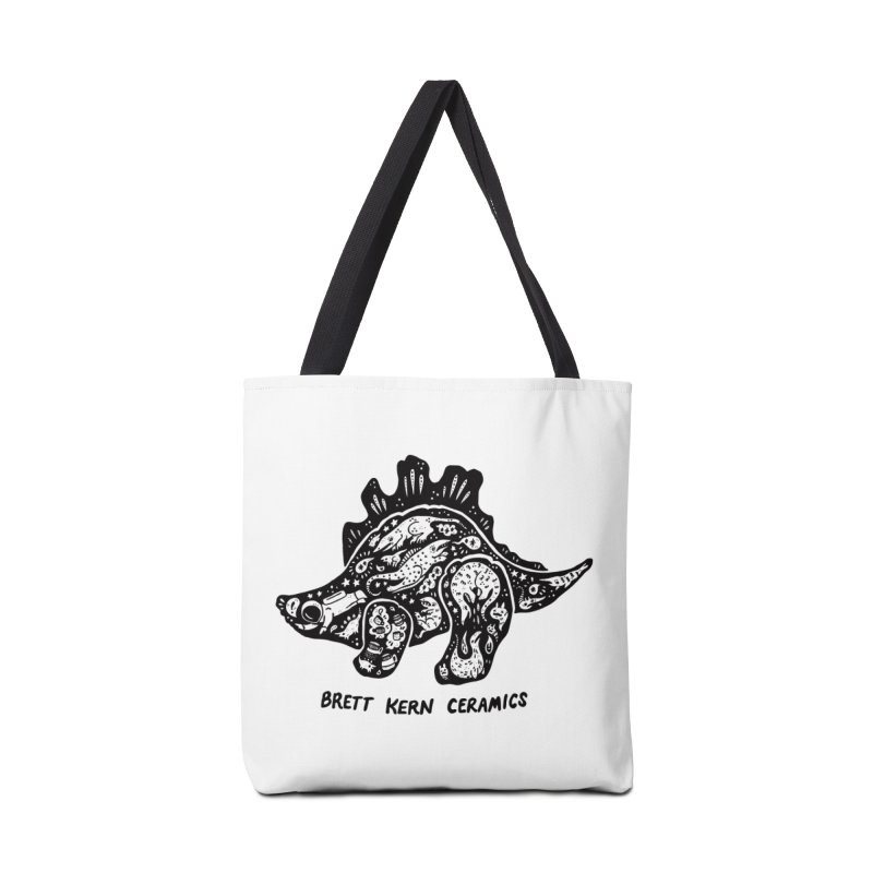 Brett Kern Stego Logo Accessories Tote Bag Bag by Haypeep's Artist Shop