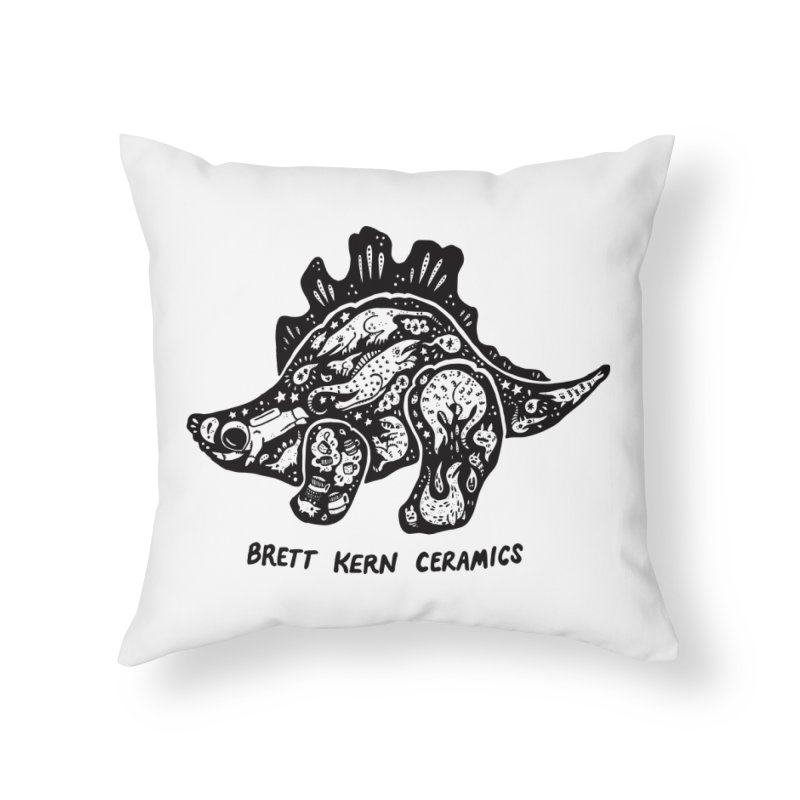 Brett Kern Stego Logo Home Throw Pillow by Haypeep's Artist Shop