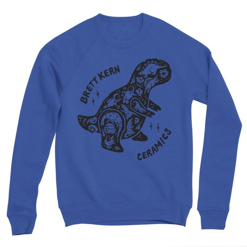 Brett Kern T-Rex Logo Men's Sweatshirt by Haypeep's Artist Shop