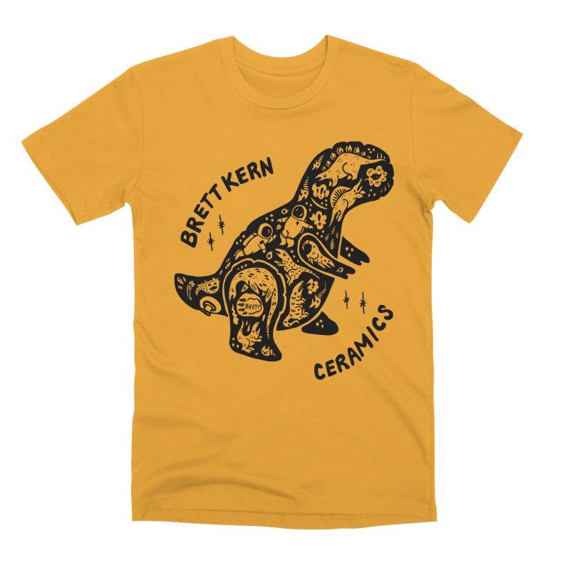 Brett Kern T-Rex Logo Men's Premium T-Shirt by Haypeep's Artist Shop