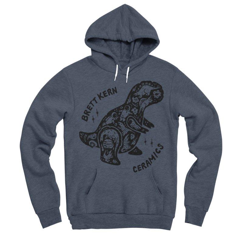 Brett Kern T-Rex Logo Women's Sponge Fleece Pullover Hoody by Haypeep's Artist Shop