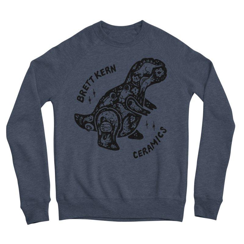 Brett Kern T-Rex Logo Men's Sponge Fleece Sweatshirt by Haypeep's Artist Shop