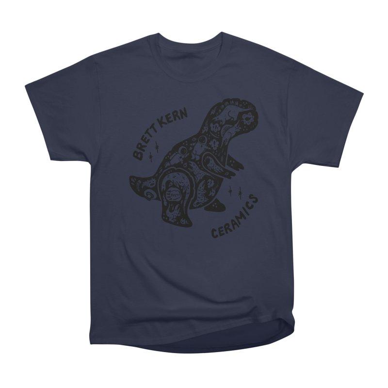 Brett Kern T-Rex Logo Women's Heavyweight Unisex T-Shirt by Haypeep's Artist Shop