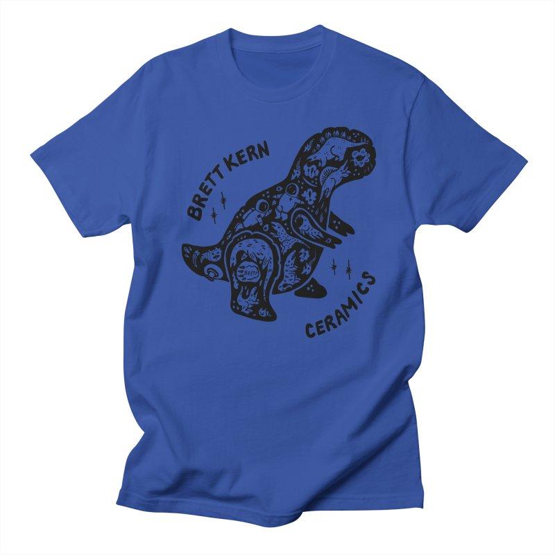 Brett Kern T-Rex Logo Men's T-Shirt by Haypeep's Artist Shop