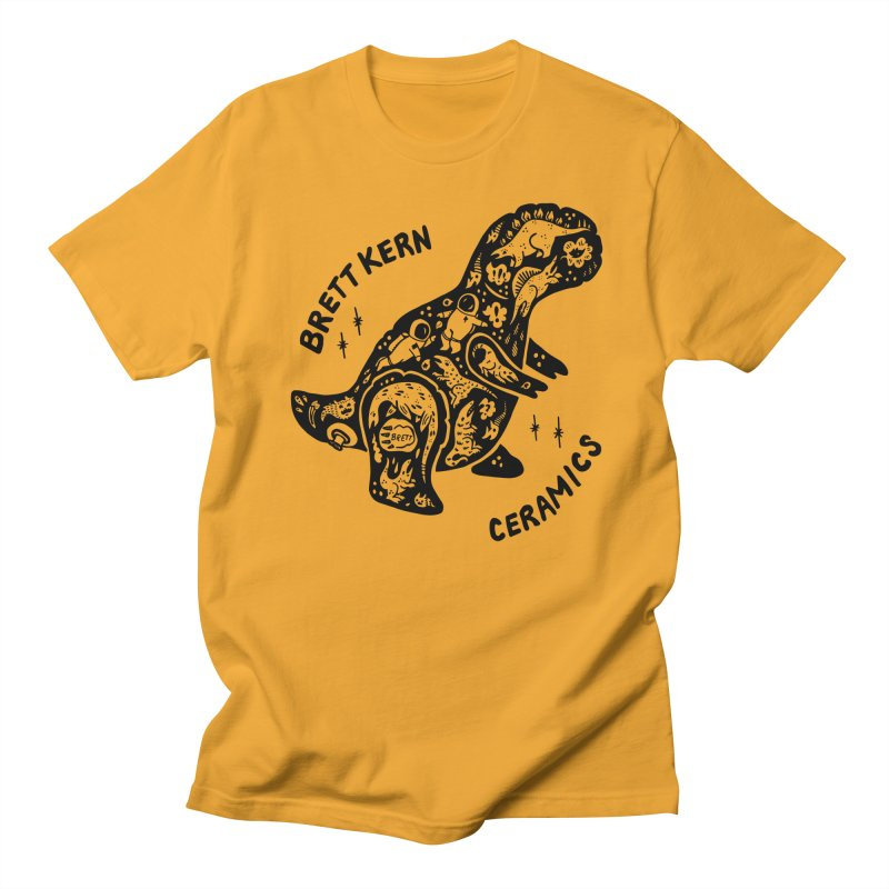 Brett Kern T-Rex Logo Men's Regular T-Shirt by Haypeep's Artist Shop