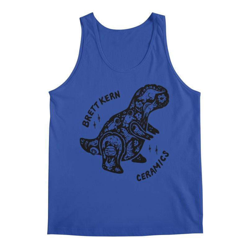 Brett Kern T-Rex Logo Men's Regular Tank by Haypeep's Artist Shop
