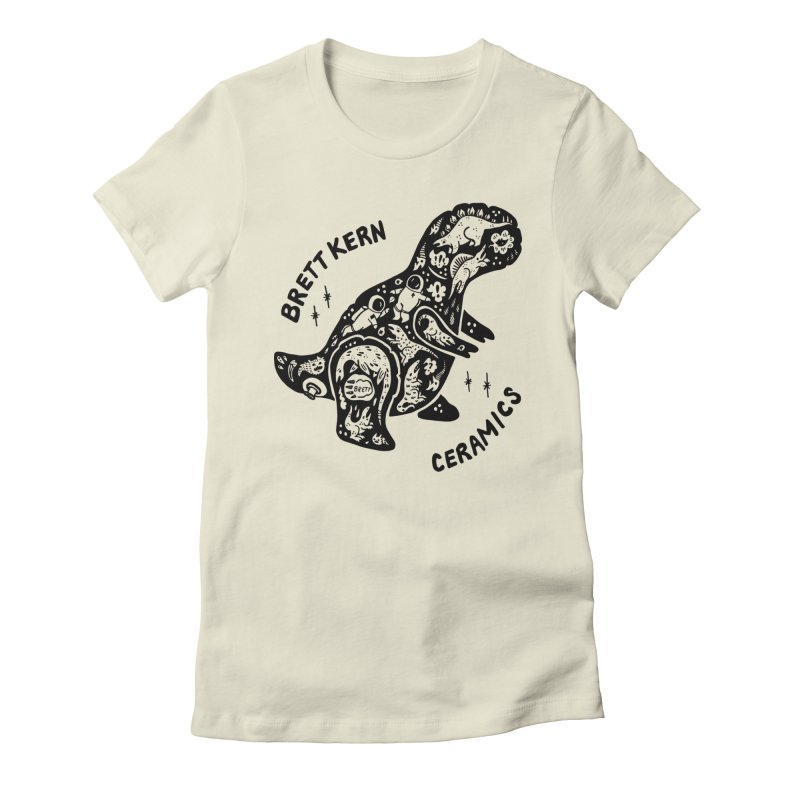 Brett Kern T-Rex Logo Women's T-Shirt by Haypeep's Artist Shop