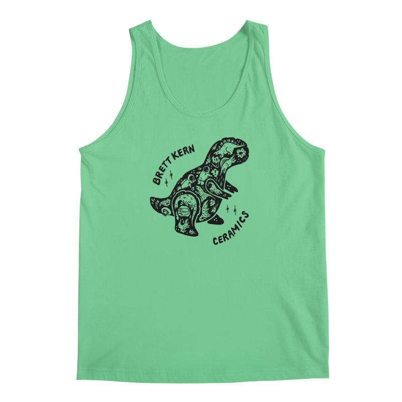 Brett Kern T-Rex Logo Men's Tank by Haypeep's Artist Shop