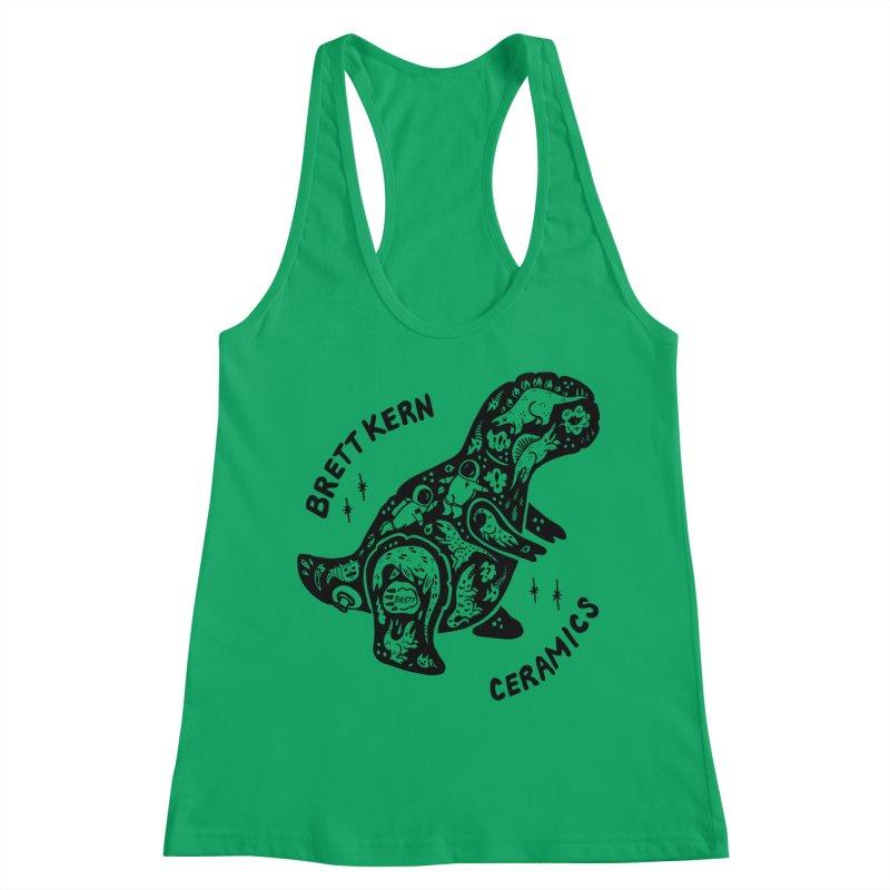 Brett Kern T-Rex Logo Women's Tank by Haypeep's Artist Shop