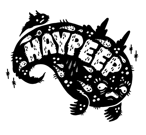 Logo for Haypeep's Artist Shop