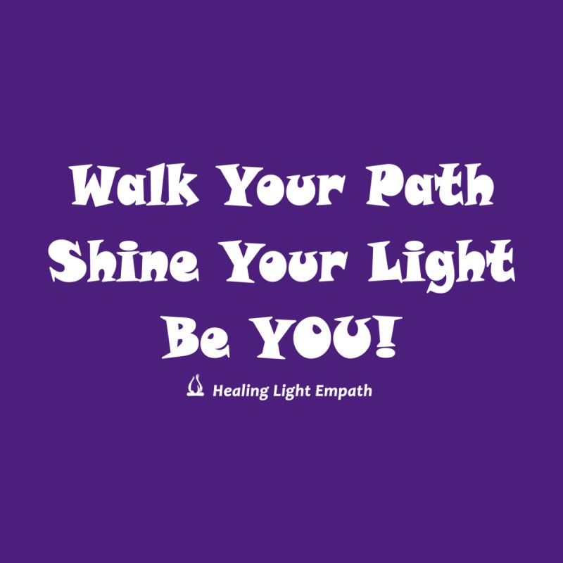 Walk Your Path Affirmation Accessories Face Mask by Welcome to Healing Light Empath's Shop!